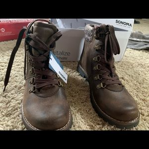 Sonoma cushioned Footbed Brown Boots